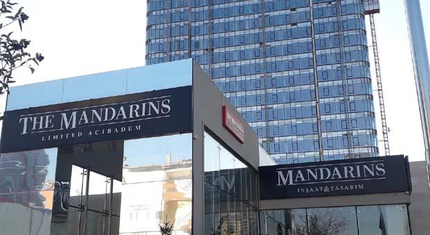 The Mandarins Acıbadem'de tamamlanan 1.etap inşaatı göz kamaştırıyor