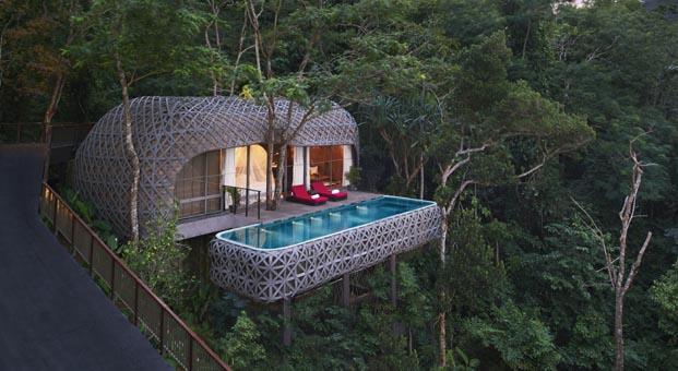 Ağaç ev konseptli otellere talep artıyor