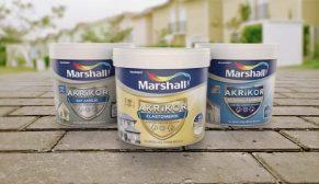 Marshall'dan AKRIKOR dış cephede 4 mevsim koruma kalkanı
