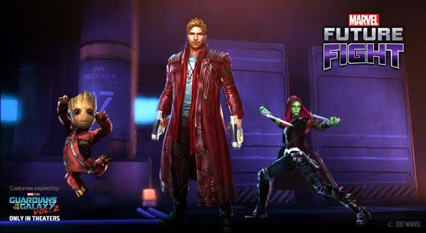 MARVEL Future Fight'a 'Galaksinin Koruyucuları 2' güncellemesiyle 3 yeni karakter geldi