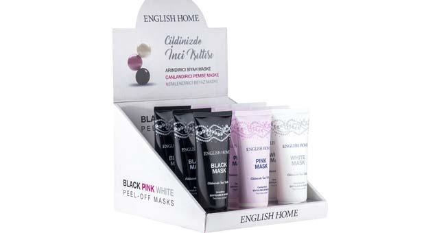 English Home inci tozu maskeleri ile cildiniz ışıldasın