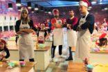 Masterchef yarışmacıları minik şeflerle mutfağa girdi