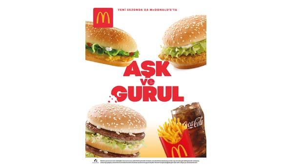 McDonald's'tan yeni kampanya: Aşk ve Gurul
