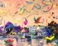 'Büyüleyen Şehir İstanbul Sergisi' Trump Art Gallery'de