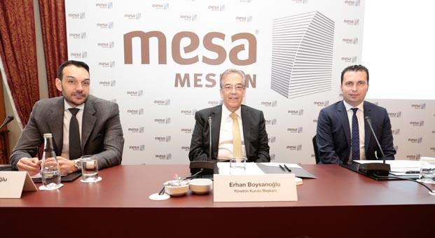 MESA bu yıl 3.5 milyar liralık yatırım yapacak