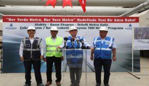Başkan Topbaş  Ataköy – İkitelli  Metrosu'nu inceledi