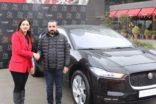 Jaguar I-PACE Şırnak'a gitti