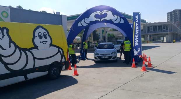 Michelin 'Doğru Hava Basıncı' etkinliklerinden çıkan sonuç: Trafikteki araçların yüzde 34'ü tehlikeli