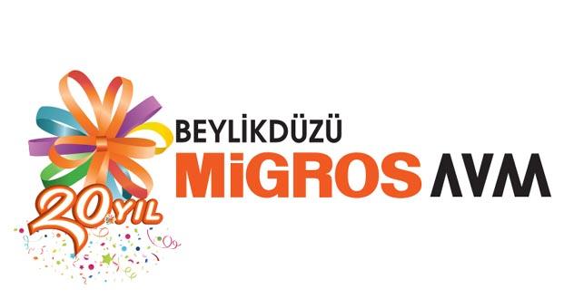 Beylikdüzü Migros AVM'de festival zamanı