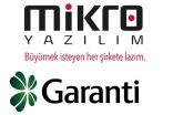 Mikro Yazılım ve Garanti Bankası'dan iş birliği