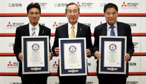 Mitsubishi Electric üç dalda Guinness Dünya Rekoru kırdı