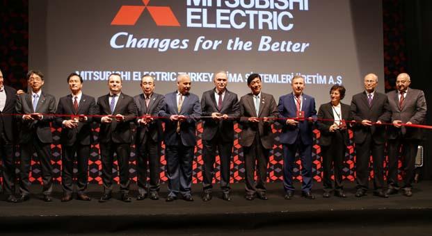 Mitsubishi Electric Manisa'daki ev tipi klima fabrikasını açtı