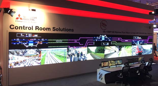 Mitsubishi Electric'ten yeni nesil LED ekran teknolojileri