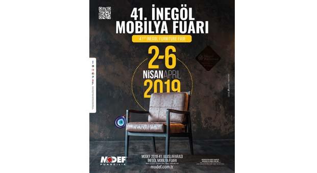 İnegöl Mobilya Furı MODEF EXPO 2019 yarın başlıyor