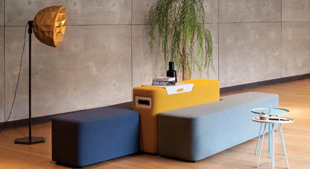 Koleksiyon'dan modüler oturma sistemi: Calder