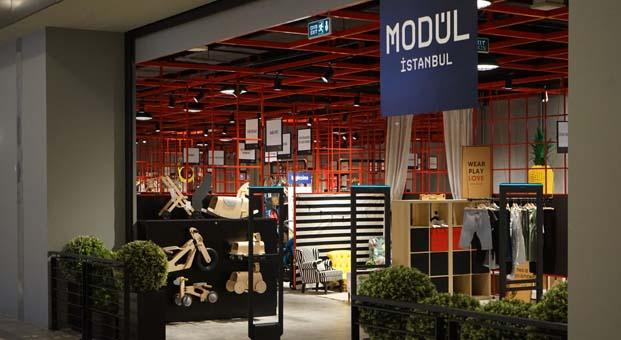 Modül İstanbul Anadolu Yakası'ndakiilk mağazasıyla Emaar Mall'da