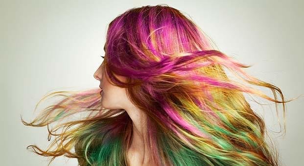 Morfose'dan Change Colour Sprey ile rengarenk saçlar