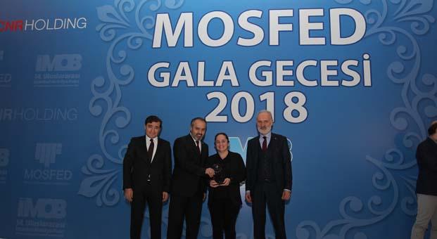 MOSFED üyeleriyle gala programında bir araya geldi ve Sektörün 'en'leri ödüllendirildi