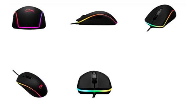 HyperX, RGB aydınlatmalı yeni oyuncu mouse'u Pulsefire Surge'ü piyasaya sürdü