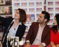 Murat Yıldırım ve eşi Imani Elbani Yıldırım Ankara Panora AVM'de