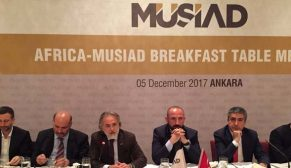MUSİAD Afrika Ülkeleri Ticaret Ataşelerini ağırladı