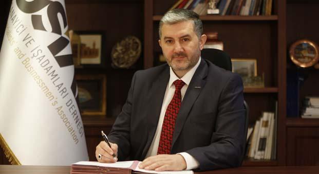 MÜSİAD Genel Başkanı Abdurrahman Kaan'dan Yıldız Holding'e destek mesajı