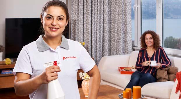 Multinetlilere ev temizliğinde uzman Mutlubiev'de 35 TL indirim