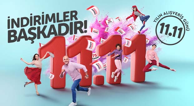 n11. com'un beklenen alışveriş festivali 11.11 yaklaşıyor