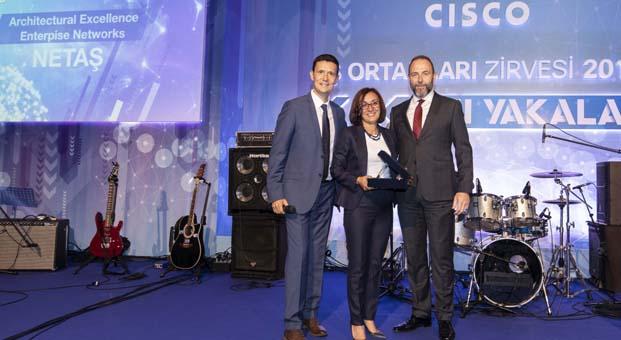 Netaş'a Cisco'dan iki ödül birden