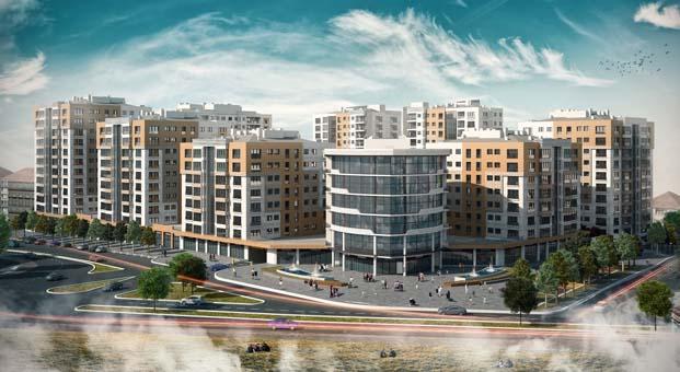 Nevşehir Emlak Konutları'nın yüzde 96'sı tamamlandı