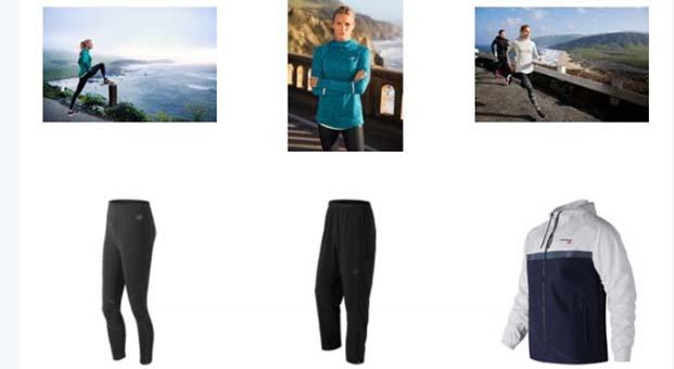 New Balance spor giyim tekstil koleksiyonunda yüzde 40 indirim