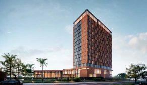 Avcı Architects tasarımı Niamey Otel inşaatı tüm hızıyla devam ediyor