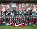 30 kız futbolcu milli takım hocalarına yeteneğini gösterme şansı yakaladı