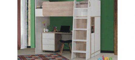 Kilim Nino'dan bir yatakta bütün oda: Active Smart Genç Odası