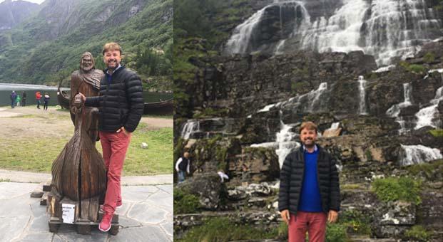 Saffet Emre Tonguç Norveç Fiyordları'nda bir rekora imza attı
