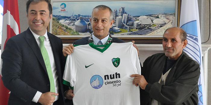 Nuh Çimento'dan Kocaelispor'a destek