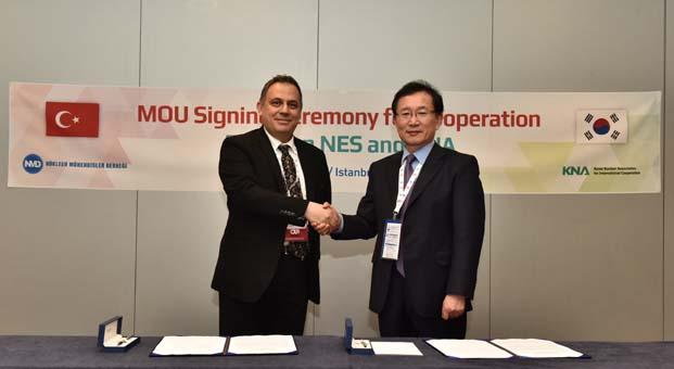 Türkiye ile Güney Kore arasında nükleer işbirliği anlaşması imzalandı