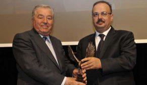 Bien kurucusu Nurullah Ercan'a onur ödülü