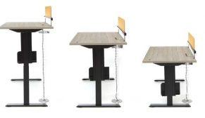 Yeni trend yükseltilebilir çalışma masaları