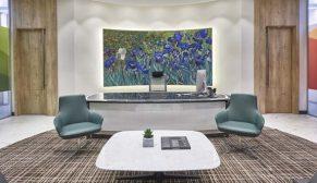 İç Mimar Eda Tahmaz: Yönetici odalarına yalın ve saydam bir görünüm hakim
