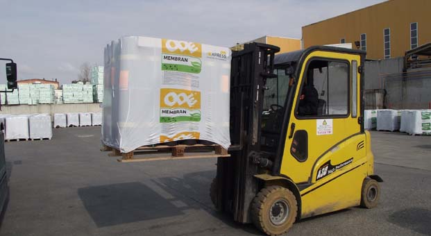 ODE'den 'Express' ile sektörde bir ilk: Membran siparişi ertesi gün kapıda