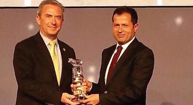 Güriş ICCI Enerji Ödülü'ne layık görüldü