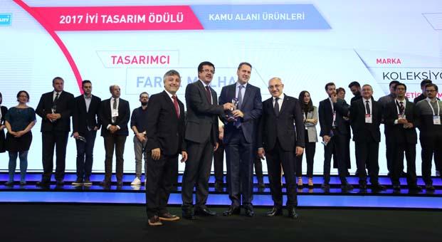 Koleksiyon'a Türkiye Tasarım Haftası'ndan 4 ödül birden