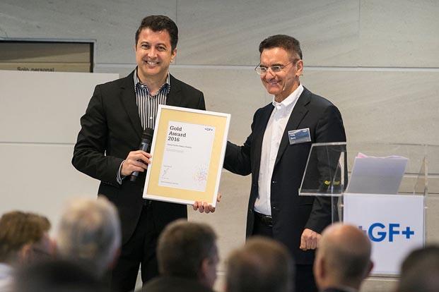 Georg Fischer'den GF Hakan Plastik'e Gold Award
