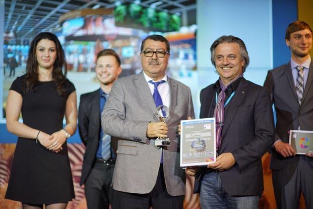 ITB Berlin'de Türkiye standı Avrupa İkincilik Ödülünü aldı
