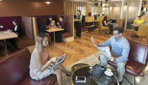 Türk iş insanlarının dünyaya açılan ofisi