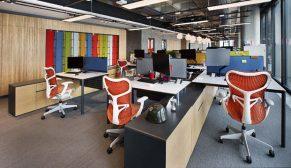 Bakırküre Architects'ten hareket temelli ve çevre dostu bir ofis tasarımı