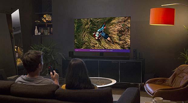 OLED TV'ler düşük mavi ışık seviyesi ile gözleri koruyor