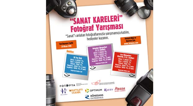 Sanat Kareleri fotoğraf yarışması başvuruları başlıyor