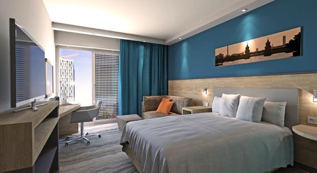 Dünyanın en büyük Hampton by Hilton oteli Berlin'de açıldı